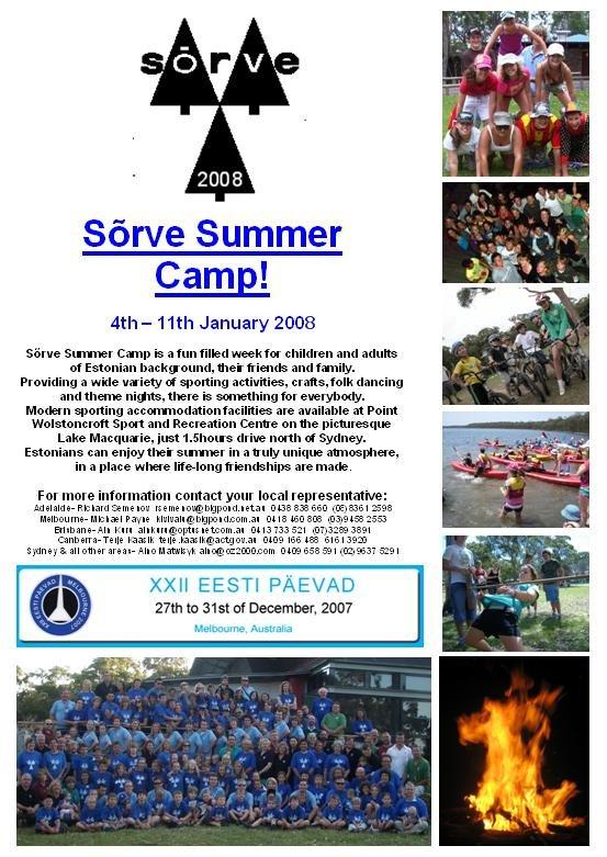 Sorve 2008 flyer