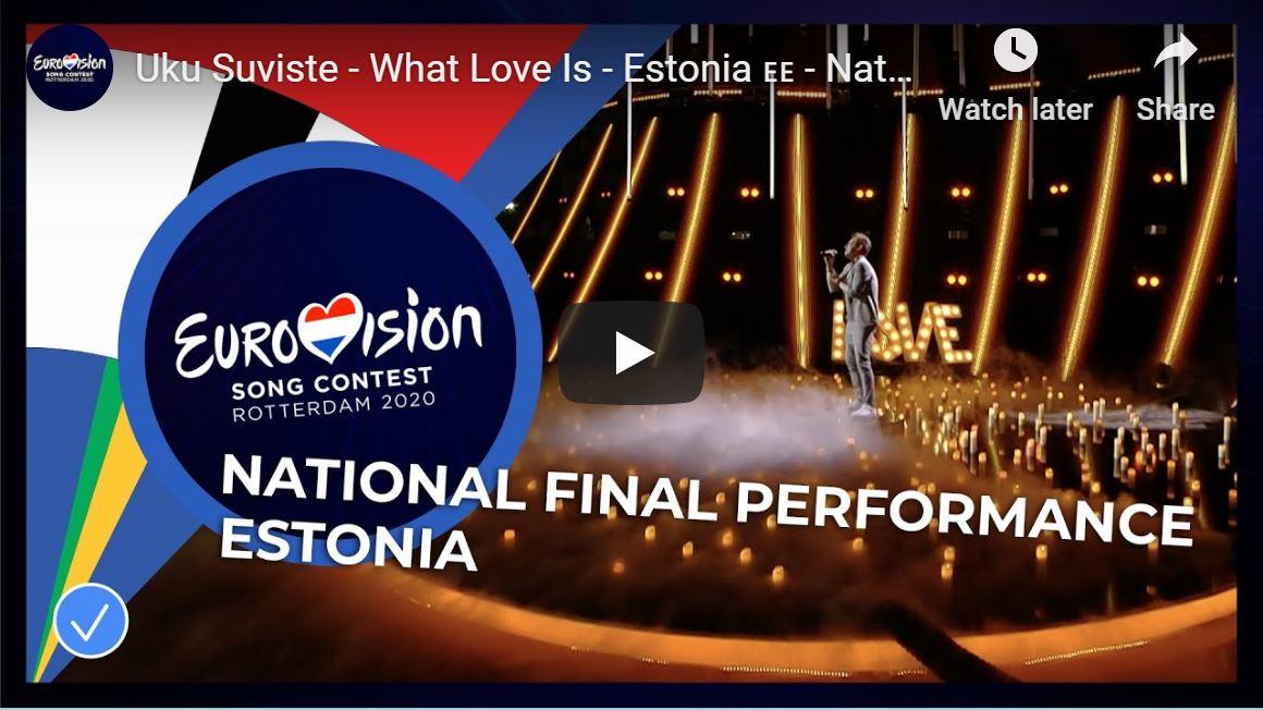 Estonia Eurovision 2020