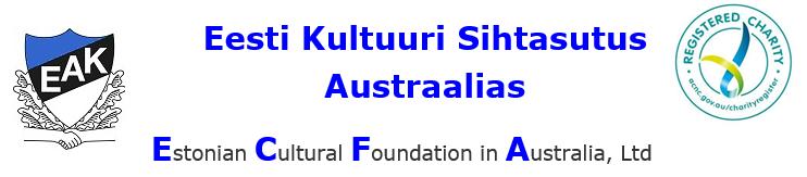 Eesti Kultuuri Sihtasutus Austraalias