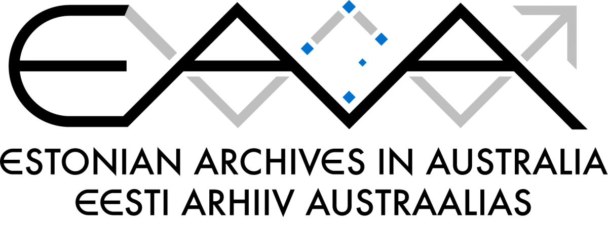 New Estonian Archives in Australia Logo