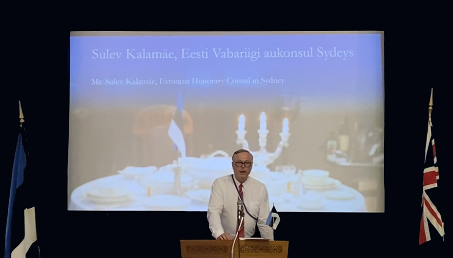 Sulev Kalamäe, Honorary Consul of Estonia